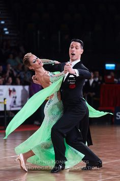 Simone Segatori and Annette Sudol - WDSF Grand Slam Standard Hong Kong 5 June 2016