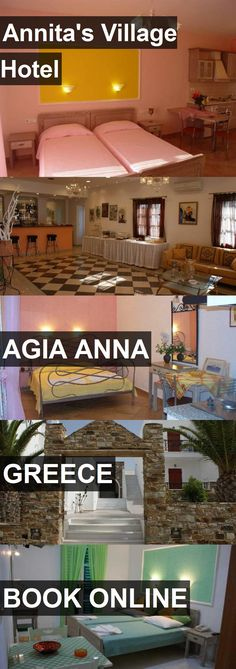 Annita's Village Hotel in Agia Anna, Greece. For more information, photos, reviews and best prices please follow the link. #Greece #AgiaAnna #travel #vacation #hotel