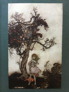 From 'Rip Van Winkle' illustrated by Arthur Rackham'.