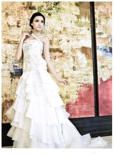 Camille Garcia Wedding Gown Full Skirts, Silk Satin, One Shoulder Wedding Dress, Wedding Gowns, Ball Gowns, Tulle, Couture, Bridal, My Style