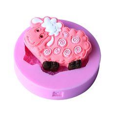1pcs  Cute Sheep Shape Candy Jello Mould Soap Mold Food Grade Silicone Fondant Cake Tool Bakeware Cookware on Aliexpress.com   Alibaba Group