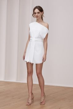 MEADOWS MINI DRESS ivory