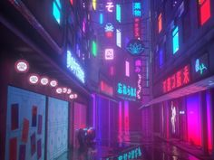 The 16 Most Beautiful Dystopian Landscapes on r/CyberPunk cyber punk