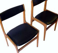RESERVED / Vintage MidCentury Danish Modern Side Chair by belmodo, $95.00