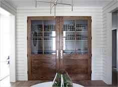 My dream home, my dream wine closet Royall Avenue, Old Village, Charleston SC Modern Bungalow   Rue Magazine