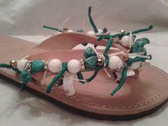 Summer sandals Ciabatta, Summer Sandals, Leather Sandals, Macrame, Flip Flops, Change, Creative, Shoes, Women