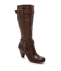 Arturo Chiang Vin Tall Boots #Dillards in dark chocolate or black, size 8