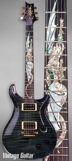 1993 Paul Reed Smith Dragon II. Only 100 were ever made! #PRSGuitars