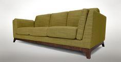 Ceni Seagrass Green Sofa - Sofas - Article | Modern, Mid-Century and Scandinavian Furniture