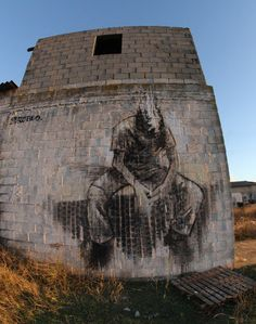 Borondo #street art #graffiti
