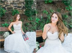 4th of July wedding by April B Photography!  Dress by Sealed With A Kiss www.sealedwithakissbridal.com