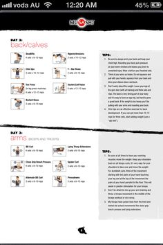 Arnold schwarzenegger blueprint workout day 5 gym workouts musashi workout strength training backcalves arms days 2 3 malvernweather Choice Image