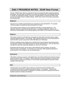 soap note template counseling - google search | soap notes, Presentation templates