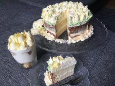 Citromos joghurtos tejszínes tortakrém Hungarian Recipes, Hungarian Food, Lidl, Camembert Cheese, Tart, Food And Drink, Cake, Hungarian Cuisine, Pie