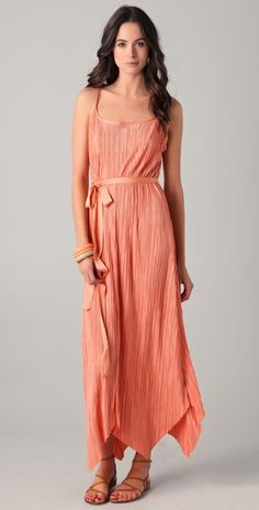 This asymmetrical maxi dress continues to catch my eye! The slinky jersey makes it so easy to wear!