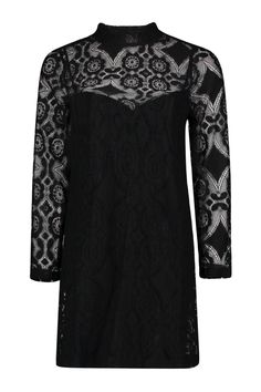 77aa062ee6203 Savannah Lace High Neck Shift Dress Latest Dress