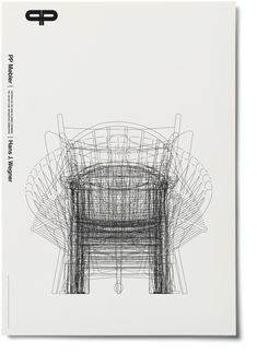 A poster of Hans Wegner's chairs.