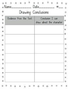 Printables Drawing Conclusion Worksheets drawing conclusions and other great mentor texts teaching pinterest