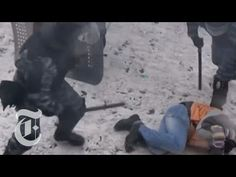Ukraine Protests 2014: Violent Clashes in Kiev | The New York Times