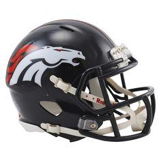 "Von Miller Denver Broncos Autographed Riddell Super Bowl 50 Champions Mini Helmet with ""SB 50 MVP"" Inscription"
