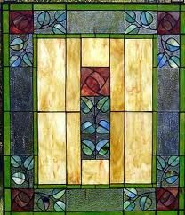 Frank Lloyd Wright  - stained glass window
