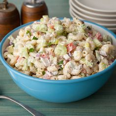 American Macaroni Salad. -Vegenaise, carrots, red bell pepper