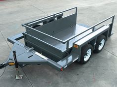 Drop Deck Utility Trailer - Tired of the artificial look of several other wood decks in the marketplace? For centuries, wood has become the favored Work Trailer, Trailer Tent, Trailer Tires, Trailer Plans, Trailer Build, Utility Trailer, Atv Trailers, Dump Trailers, Velo Tricycle