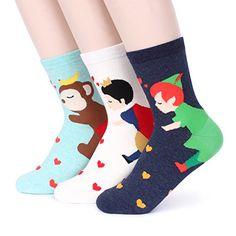 Women's Fashion Casual Funny Crazy Socks Collection (Chuu... https://www.amazon.com/dp/B01IET6WY6/ref=cm_sw_r_pi_dp_x_BpERxbSYNH47G