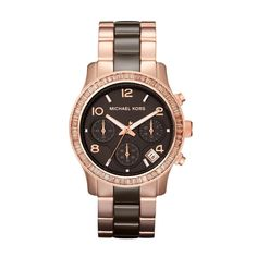Michael Kors runway or rose http://www.vogue.fr/joaillerie/shopping/diaporama/montres-or-normes/10338/image/639354#michael-kors-runway-or-rose