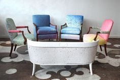 Chairloom uses FV fabric in gorgeous, inventive ways!