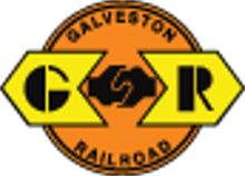 Galveston Railroad.   Genesee & Wyoming Rail Link subsidiary (coupler in the center). A class III railroad.