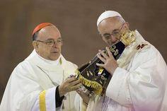 Pape François - Pope Francis - Papa Francesco - Papa Francisco - JMJ RIO 2013 - ND'Aparecida, la prima messa brasiliana di Francesco