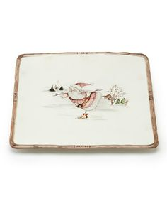 "Take a look at this Twig 11"" Square Platter by Savinio Designs on #zulily today!"