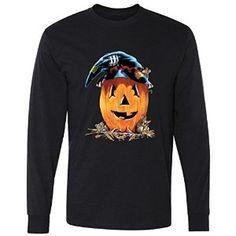 Halloween Friends Dressed Pumpkin long sleeve T-Shirt