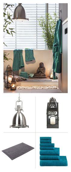 """""""Grau und kalt"""" war gestern. Jetzt lassen frische Farben, kuschelige Materialien und gezielt eingesetzte Deko-Elemente im Badezimmer die Frühlingslaune steigen. Gleich ausprobieren!"""