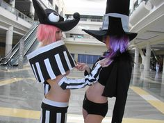 soul eater blair and mizune cosplay - Google Search