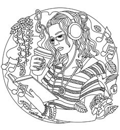 Fashion Coloring Pages To Print