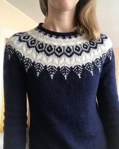 knitting inspiration Ravelry: Project Gallery for Threipmuir pattern by Ysolda Teague Fair Isle Knitting Patterns, Sweater Knitting Patterns, Knitting Stitches, Knit Patterns, Free Knitting, Sock Knitting, Vintage Knitting, Stitch Patterns, Icelandic Sweaters