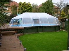 Pool Sun Domes to extend the usage time of your pool!