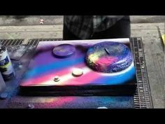 Watch This Spray-Paint Art Get Made in Front of Your Very Eyes
