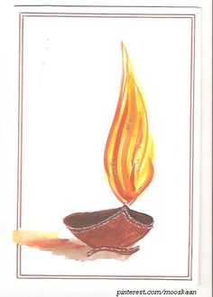 27 best cards diwali images on pinterest diwali cards diwali freehand watecolor with glitter diwali greeting card series c m4hsunfo