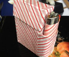 How to make this Duct Tape Cigarette Case