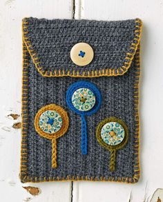 Free pattern: e-reader case