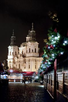 Silent Night, St. Nicholas Church, Old Town Square, Prague