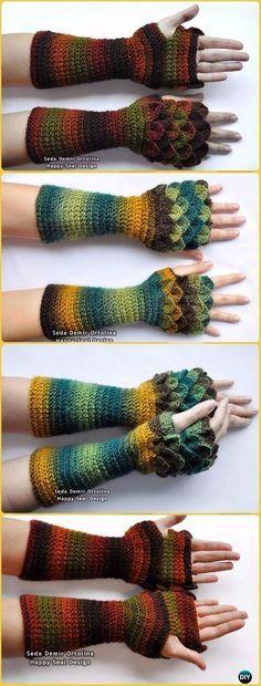 Crochet Long Dragon