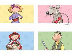 Personatges de conte. BERNADETTE CUXART Del Conte, Fairy Tales, Fictional Characters, Preschool, Storytelling, Fairytale, Adventure, Fairytail, Fairies