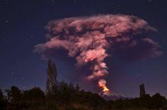 Vulcão entra em erupção no sul do Chile - Internacional - Estadão
