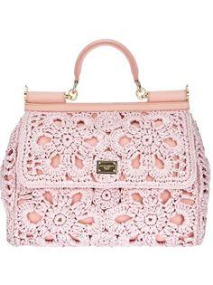 DOLCE & GABBANA - Bolsa rosa. 7