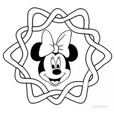 Printable Minnie Mouse Coloring Pages For Kids ...