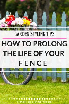 Prolong the life of your fence with these easy tips - great simple steps for making your fencing last longer Backyard Plan, Backyard Ideas, Garden Ideas, Contemporary Garden Rooms, English Cottage Style, Garden Solutions, Uk Homes, Garden Spaces, The Life